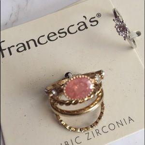 Francesca's rings size 6